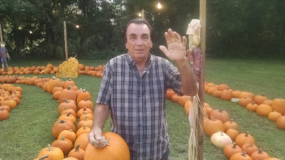 First customer Newberry UMC pumpkin patch